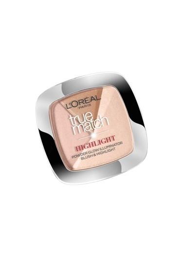 L'Oréal Paris True Match 102D/102W en Glow Highlight Aydınlatıcı Pudra Ten